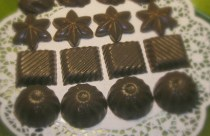 Coconut Oil Lime Chocolates
