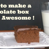 Make Box Cake Awesome