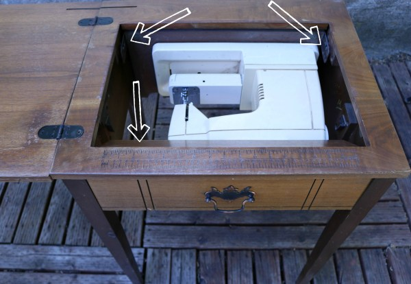 Sewing Table Remake | www.ourlifeinspired.com