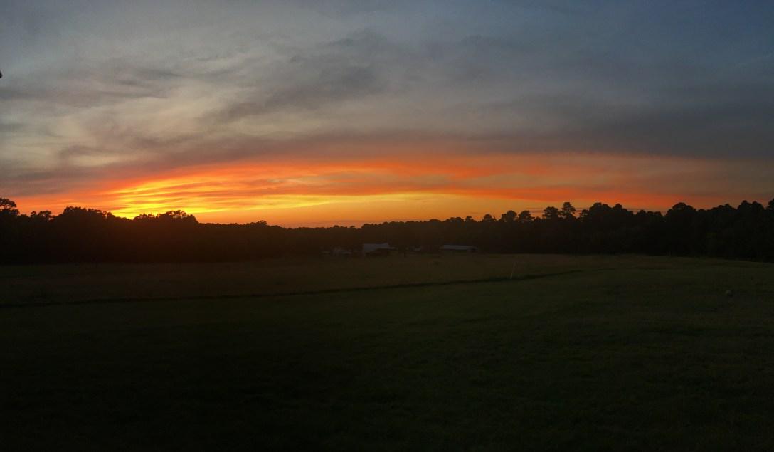 Sunset 10-10-17
