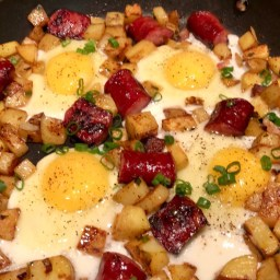 One Skillet Breakfast Hash.