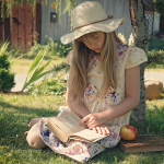 Girl Reading Learn Phonics