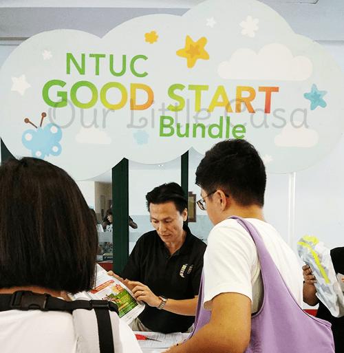 NTUC Good Start Bundle Booth