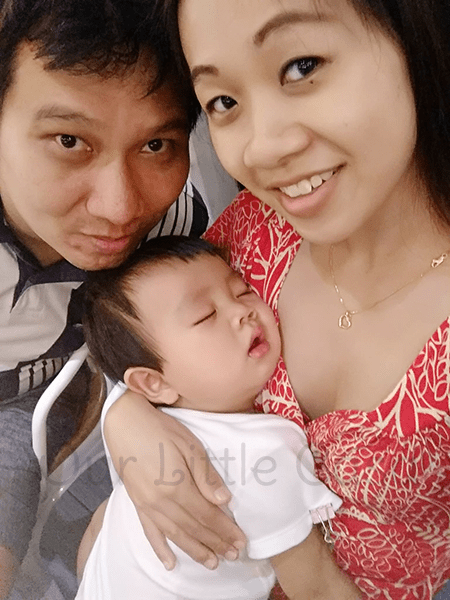Sleeping Baby J at Fanpekka