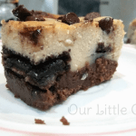 Baileys Cheesecake Brownie Bars