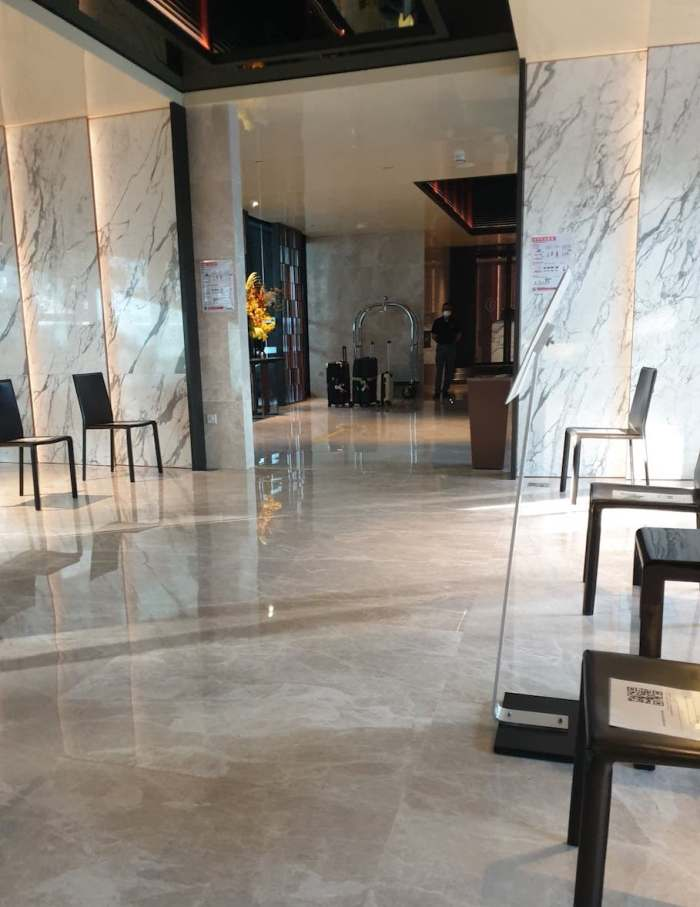 InterContinental Singapore Robertson Quay lobby