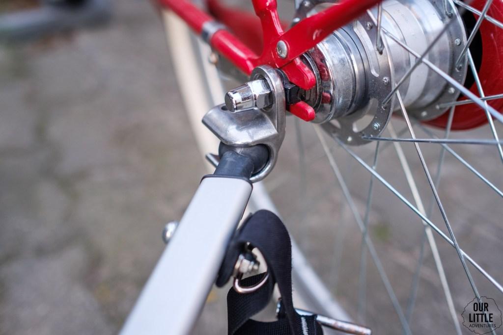 ezHitch system mocowania thule do roweru