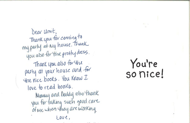 Testimonials And Thank You Notes Little Angels Family