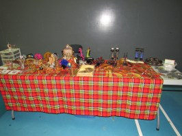 some of our Kenyan items we sell at the Craft Fairs