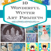 10 Wonderful Winter Art Projects