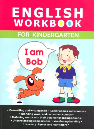 English Workbook for Kindergarten (Kid's Educational Books)