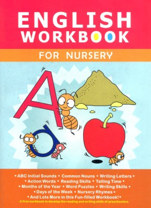 English Workbook for Nursery (Kid's Educational Books)