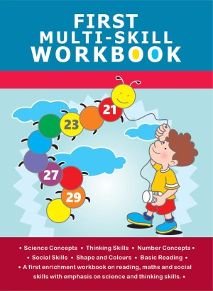 First Workbook Series – First Multi-Skill Workbook (Kid's Educational Books)