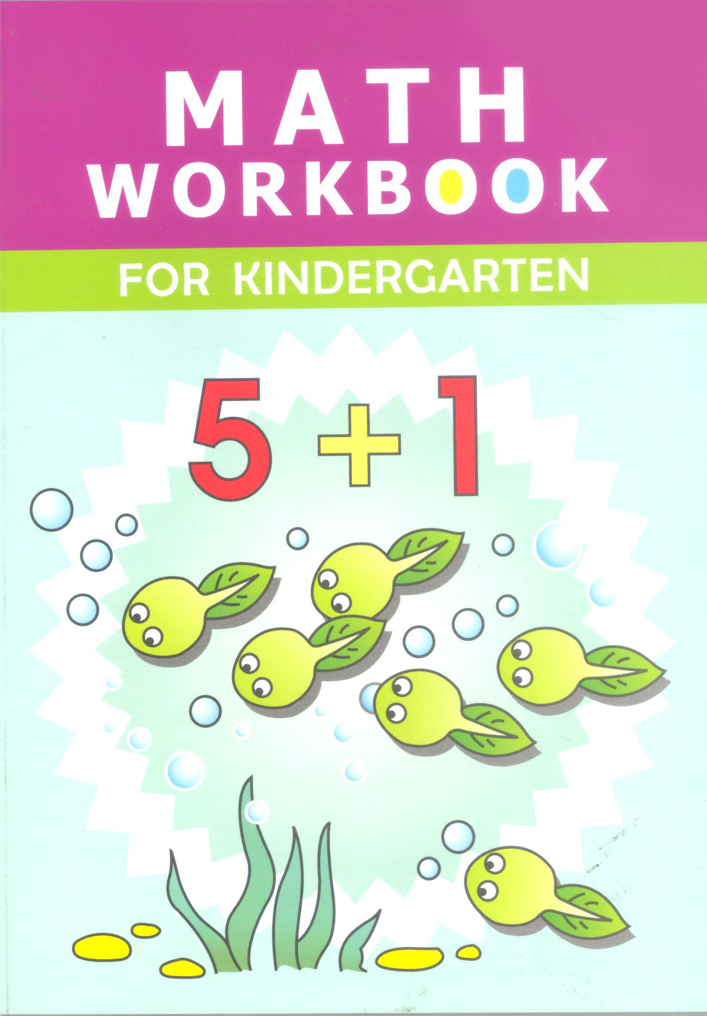 Math Workbook for Kindergarten (Kid\'s Educational Books) | Our ...