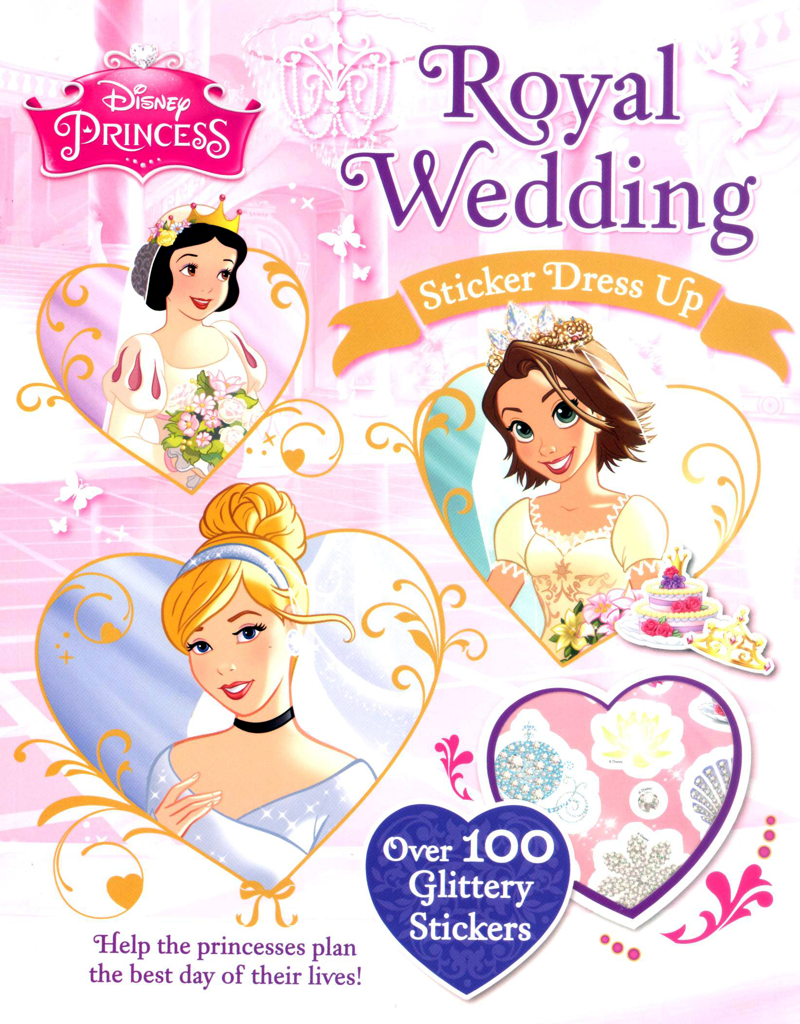 disney stickers and dress up activity book royal wedding kids activities