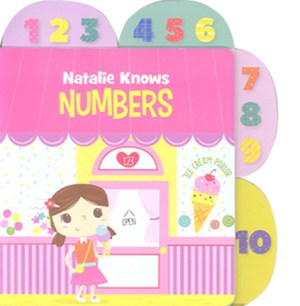 Educational Tab Series - Natalie Knows Numbers (Kid's Educational Books)