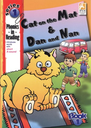 Phonics in Reading Series 1: Book 1 - Cat on the Mat & Dan & Nan (Kid's Educational Books)