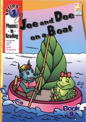 Phonics in Reading Series 1: Book 9 - Joe & Doe on a Boat (Kid's Educational Books)