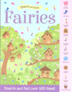 Search And Find Book - FAIRIES (Kids Activities)