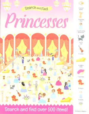 Search And Find Book - PRINCESSES (Kids Activities)