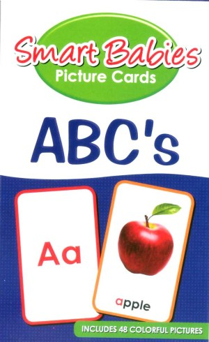 Smart Babies PICTURE CARDS- ABC's (Kid's Educational Books)