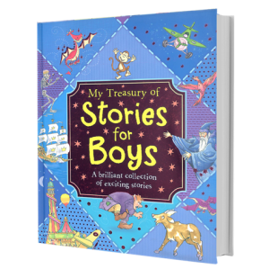 My Treasury of Stories for Boys (Kids Story Book)