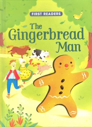 FIRST READERS Series - GINGERBREAD MAN (Kids Story Book)
