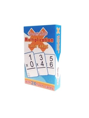 Smart Kids FLASH CARDS- MULTIPLICATION (Kid's Educational Books)