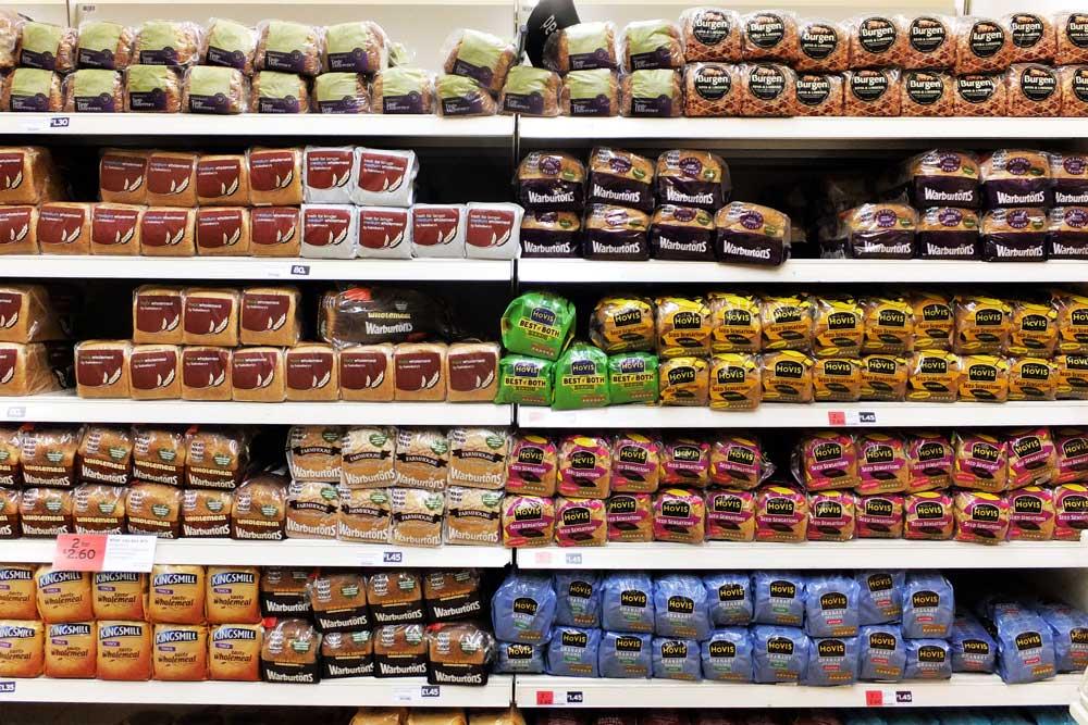 supermarket bread