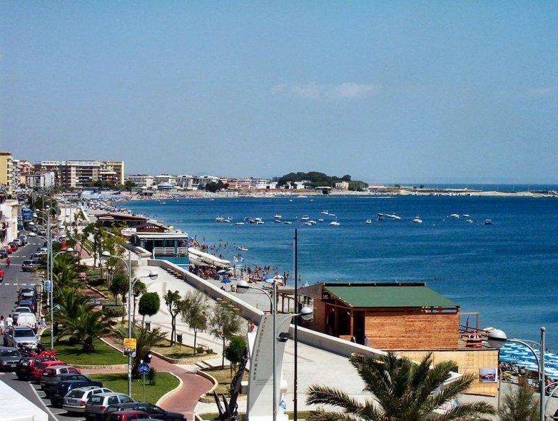 Catanzaro Lido and Promenade