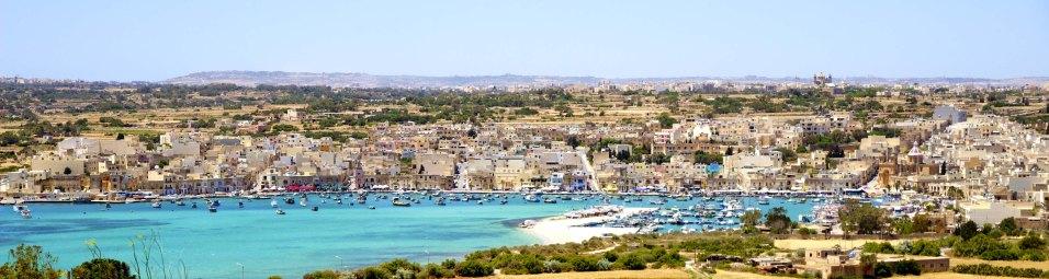 Marsaxlokk au Sud de Malte