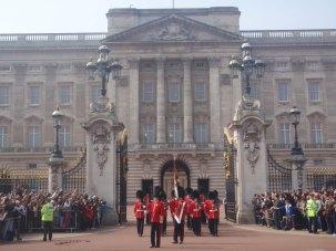 Buckingham palace et la garde royale