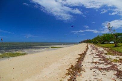 Spot de kite surf pour debutant