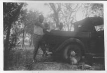 Bill Gidgee Adams and George Fleming husband of sisterTess Adams