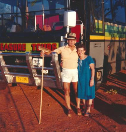 Joan Ross 23 Day Safari Darwin Red Centre May 86 -Cape Crawford