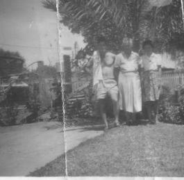 Ross mother Mary Adams Muriel Pollock 1953