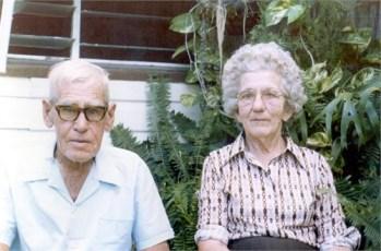 Uncle Les Aunty Vera Adams - source Linda Lyon via Ancestry