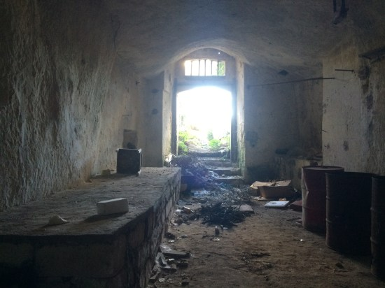 Roger goes inside an abandoned cave dwelling