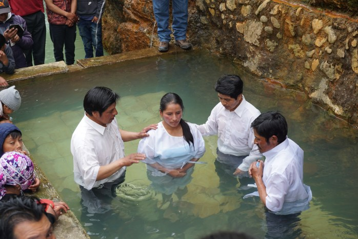 Let us draw near with a true heart in full assurance of faith, with our hearts sprinkled clean from an evil conscience and our bodies washed with pure water.<br>-Hebrews 10:22