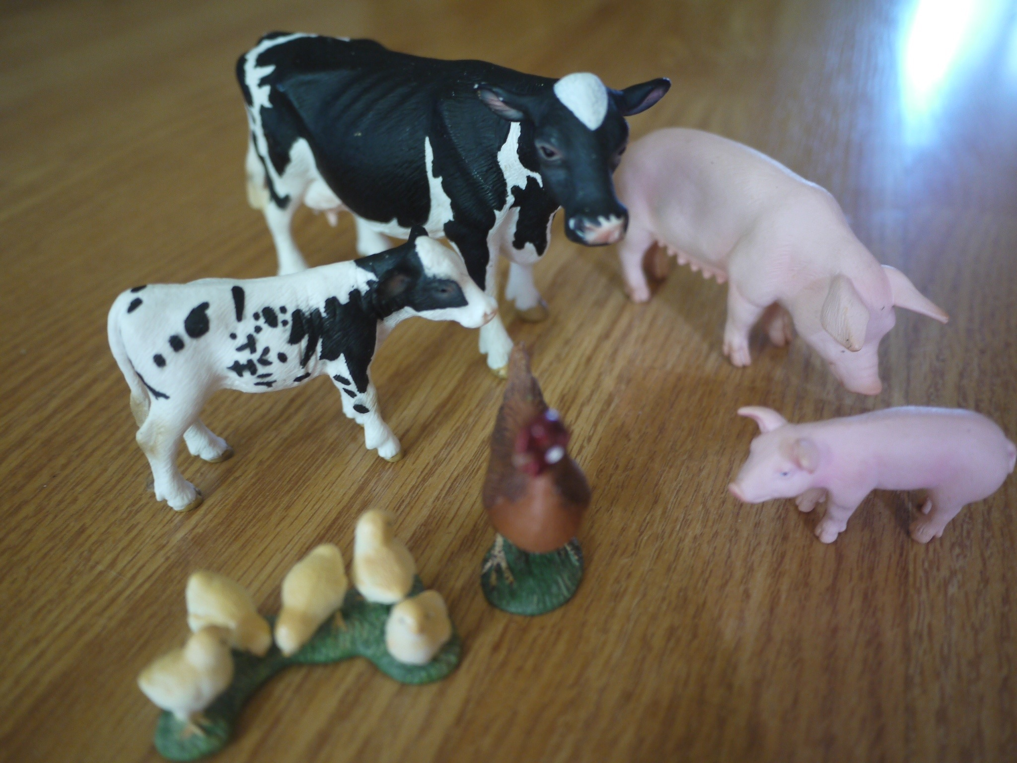 Toddler Matching Activities Farm Animal Mother And Baby