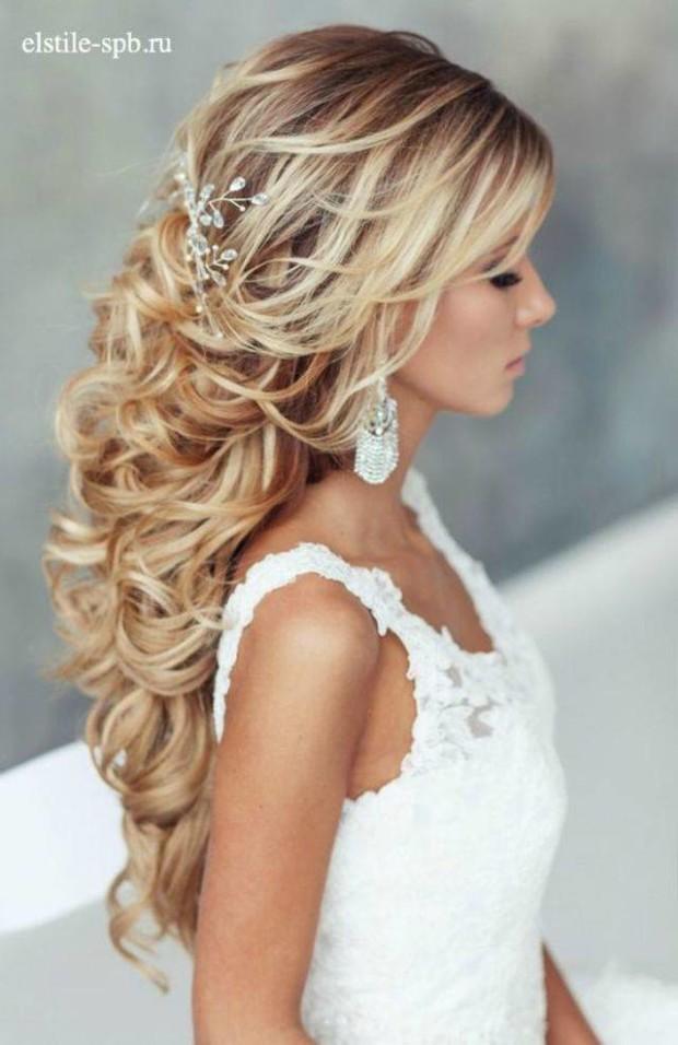 stunning-half-up-half-down-wedding-hairstyles