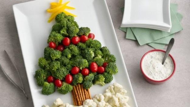 christmas-tree-vegetable-platter
