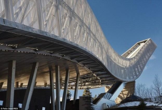 Luxury penthouse opened at the top of Holmenkollen ski jump 2