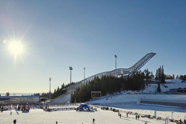 Luxury penthouse opened at the top of Holmenkollen ski jump