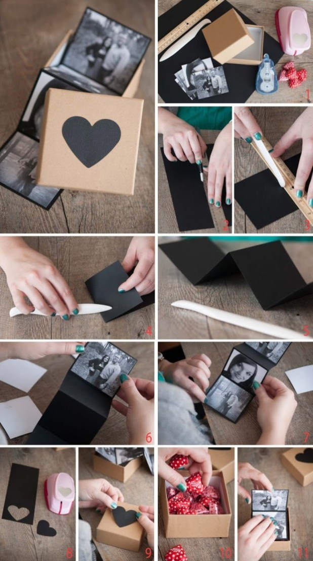 diy valentine's day gifts for him 9