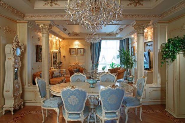 Baroque-Style-Interior-design-Dining-room