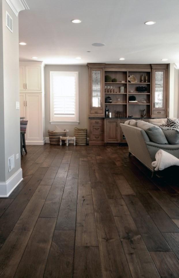 Rustic Wood Flooring Ideas 4