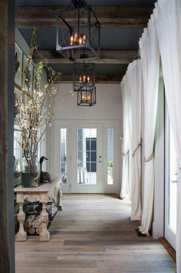 Rustic Wood Flooring Ideas 6