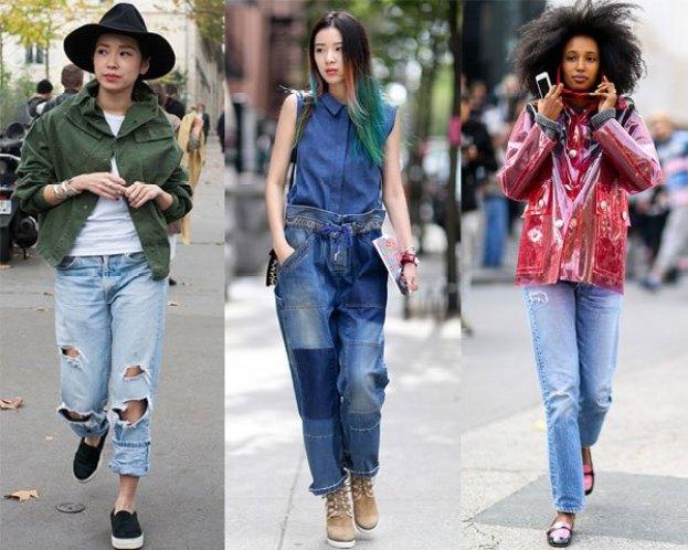 Spring Summer 2017 Fashion Trends -Denim Style