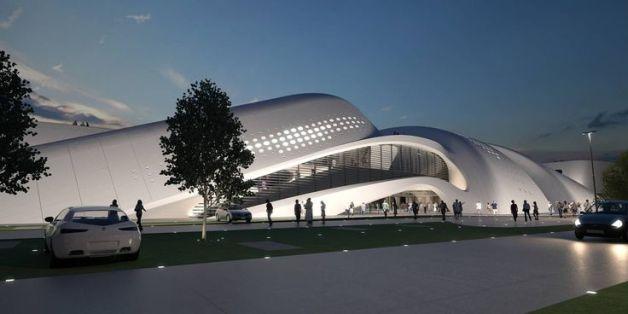 Futuristic Architecture- Jesolo Magica by Zaha Hadid Architects 3